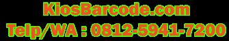 Pusat Mesin Barcode - 0812-5941-7100